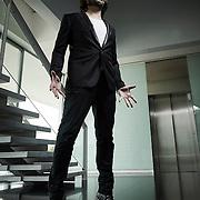 """Lisboa, 15/02/2015 - O dançarino e coreógrafo espanhol Joaquín Cortés, elemento do júri do programa """"Achas que sabes dançar"""", fala da sua carreira.<br /> (Paulo Alexandrino / Global Imagens)"""