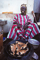 street food in Dakar