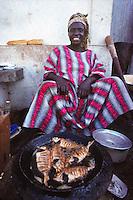 street food in Dakar