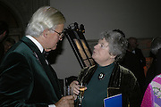A.S.BYATT, Drinks Reception before the Man Booker Prize 2006. Guildhall, Gresham Street, London, EC2, 10 October 2006. -DO NOT ARCHIVE-© Copyright Photograph by Dafydd Jones 66 Stockwell Park Rd. London SW9 0DA Tel 020 7733 0108 www.dafjones.com