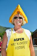 Susan Arenella of Aspen at the 2012 Mac 'N Cheese Festival in Aspen, Colorado.