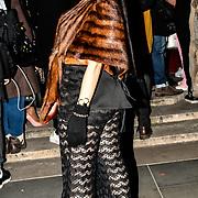 Samira Ebrahimi is a Boutique Fashion Designer attend Fashion Scout LFW AW19 Day 1 at Freemasons' Hall, London, UK. 15 Feb 2019