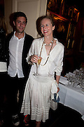 ALANAH WESTON, Dinner hosted by Elizabeth Saltzman for Mario Testino and Kate Moss. Mark's Club. London. 5 June 2010. -DO NOT ARCHIVE-© Copyright Photograph by Dafydd Jones. 248 Clapham Rd. London SW9 0PZ. Tel 0207 820 0771. www.dafjones.com.