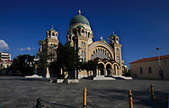 St Andrews Cathedral in Patras, Greece.<br /><br />Photo by Dennis Brack