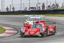 May 6, 2018 - Lexington, Ohio, United States of America - The JDC-Miller Motorsports ORECA LMP2 car races through the keyhole turn during the the Acura Sports Car Challenge at Mid Ohio Sports Car Course in Lexington, Ohio. (Credit Image: © Walter G Arce Sr Asp Inc/ASP via ZUMA Wire)