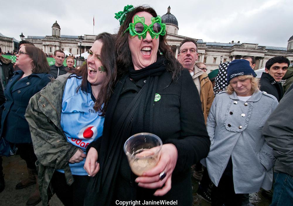 St Partrick's Day Celebrations in Trafalgar Square