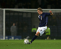 Photo: Andrew Unwin.<br /> Scotland v USA. International Challenge. 12/11/2005.<br /> Scotland's Darren Fletcher.