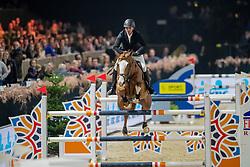 Van Olst Mike, BEL, King Falco Van Orshof<br /> Jumping Mechelen 2019<br /> © Hippo Foto - Dirk Caremans<br />  26/12/2019