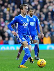Maikel Kieftenbeld of Birmingham City in action- Mandatory by-line: Nizaam Jones/JMP - 11/02/2018 - FOOTBALL - Villa Park - Birmingham, England - Aston Villa v Birmingham City - Sky Bet Championship