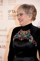 Katherine Zappone at the IFTA Film & Drama Awards (The Irish Film & Television Academy) at the Mansion House in Dublin, Ireland, Thursday 15th February 2018. Photographer: Doreen Kennedy