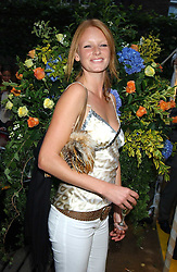 Model OLIVIA INGE at Michele Watches Kaleidoscope Summer Garden Party held at Home House, Portman Square, London on 15th June 2005.<br /><br />NON EXCLUSIVE - WORLD RIGHTS