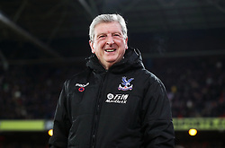 Crystal Palace manager Roy Hodgson before the Premier League match at Selhurst Park, London, Thursday 28th December 2017