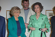 060518 Queen Sofia attends the Openeing of of the 7th Biennial of Contemporary Art ONCE Foundation