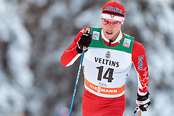 27.11.2016, Nordic Arena, Ruka, FIN, FIS Weltcup Langlauf, Nordic Opening, Kuusamo, Herren, im Bild Andy Shields (CAN) // Andy Shields of Canada during the Mens FIS Cross Country World Cup of the Nordic Opening at the Nordic Arena in Ruka, Finland on 2016/11/27. EXPA Pictures © 2016, PhotoCredit: EXPA/ JFK