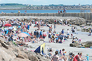 18/06/2014 Beach in Salthill Galway. Photo:Andrew Downes