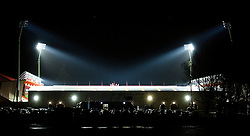 Vitality Stadium at night - Mandatory by-line: Jason Brown/JMP - Mobile 07966 386802 12/01/2016 - SPORT - FOOTBALL - Bournemouth, Vitality Stadium - AFC Bournemouth v West Ham United - Barclays Premier League