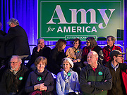 01 FEBRUARY 2020 - DES MOINES, IOWA: People wait for US Senator Amy Klobuchar before a campaign event in Des Moines. Sen. Klobuchar campaigned in Iowa to support her candidacy for the US Presidency Saturday. She is trying to capitalize on her recent uptick in national polls. Iowa holds the first selection event of the presidential election cycle. The Iowa Caucuses are Feb. 3, 2020.              PHOTO BY JACK KURTZ