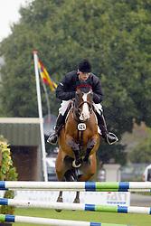 Voorn Vincent-R.Rubertha<br /> KWPN Paardendagen Ermelo 2004<br /> Photo © Hippo Foto