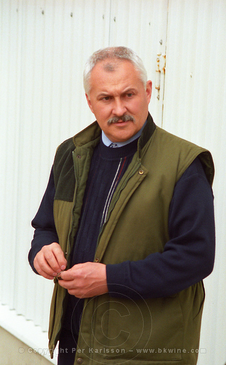 """The Royal Tokaji Wine Company: Mr. István Turoczi, the director and wine maker of the Company. The RTWC in was one of the first Tokaj wineries to be """"revived"""" by an injection of foreign capital. It makes wine in a traditional style. Credit Per Karlsson BKWine.com"""