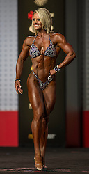 Sept.16, 2016 - Las Vegas, Nevada, U.S. -  NICOLE WILKINS competes in the Figure Olympia contest during Joe Weider's Olympia Fitness and Performance Weekend.(Credit Image: © Brian Cahn via ZUMA Wire)