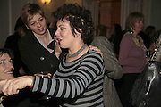 RUBY WAX, PARTY AT DARTMOUTH HOUSE AFTER A PREMIERE SCREENING OF PERFUME AT THE CURZON. LONDON.<br />5 December 2006. ONE TIME USE ONLY - DO NOT ARCHIVE  © Copyright Photograph by Dafydd Jones 248 CLAPHAM PARK RD. LONDON SW90PZ.  Tel 020 7733 0108 www.dafjones.com