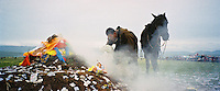 China, Xiahe, 2007. The strongest young riders and the fastest horses are chosen for a single wild race at this nomad ceremony near the Sanke Pass in Gansu Province.