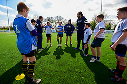 A general view of the Kids Summer Skills Camp at North Bristol Rugby with Andy Uren, Callum Sheedy and Steven Luatua - Ryan Hiscott/JMP - 10/04/2019 - SPORT - North Bristol Rugby Club - Bristol, England - Bristol Rovers End of Season Awards