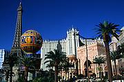 Paris and Desert Passage casinos, The Strip, Las Vegas, Nevada, USA