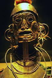 Gold Mask - Museo De Oro