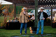 Ted Baseler and Dean Corkrum at Spring Valley Vineyard