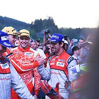 Matheo Tuscher (Rebellion), Di Grassi (Audi) (l-r), FIA WEC 6hrs of Spa 2016, 07/05/2016,