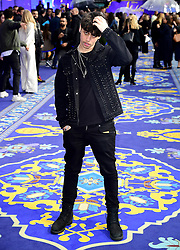 Harris J attending the Aladdin European Premiere held at the Odeon Luxe Leicester Square, London.