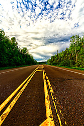 Heading northeast on Highway 61 from Grand Marais, MN. will lead you to the Canada border.  This is a very scenic drive along the North Shore with stunning views of the landscape and Lake Superior the entire way.