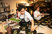 New York, NY - June 8, 2019: The 5th annual Iconoclast Dinner Experience at The James Beard House in Greenwich Village.<br /> <br /> Photo by Clay Williams for Iconoclast Dinner Experience.<br /> <br /> © Clay Williams / http://claywilliamsphoto.com