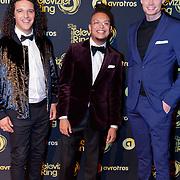 NLD/Amsterdam/20181011 - Televizier Gala 2018, Ali B., Ronnie Flex en Jim van der Zee