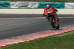 February 7, 2019 - Sepang, SGR, U.S. - SEPANG, SGR - FEBRUARY 07:  Danilo Petrucci of Mission Winnow Ducati Racing Team in action during the  second day of the MotoGP official testing session held at Sepang International Circuit in Sepang, Malaysia. (Photo by Hazrin Yeob Men Shah/Icon Sportswire) (Credit Image: © Hazrin Yeob Men Shah/Icon SMI via ZUMA Press)