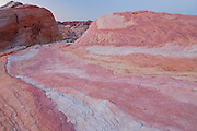 Colorful sandstone, Valley of Fire State Park, near Las Vegas, Nevada.