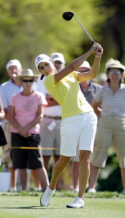 RANCHO MIRAGE, CA, March 29, 2007:   Lorena Ochoa in action at the Kraft Nabisco in Rancho Mirage, CA on March 29, 2007.