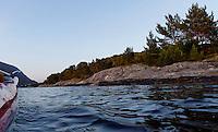 Kayaking Breisundet, Møre og Romsdal