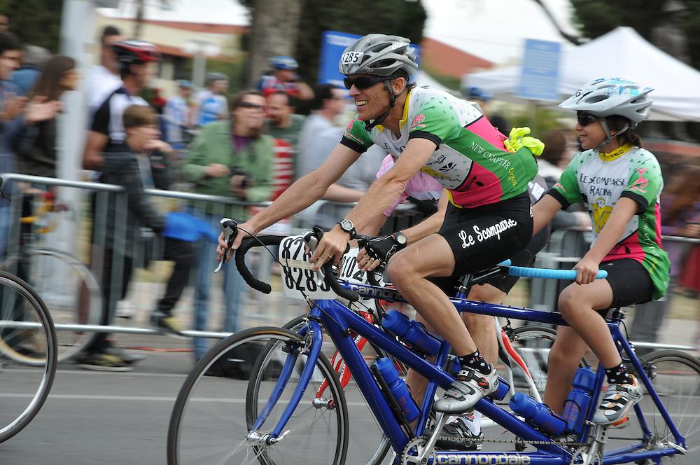El Tour de Tucson 2011 finishers. Bike-tography by Martha Retallick.