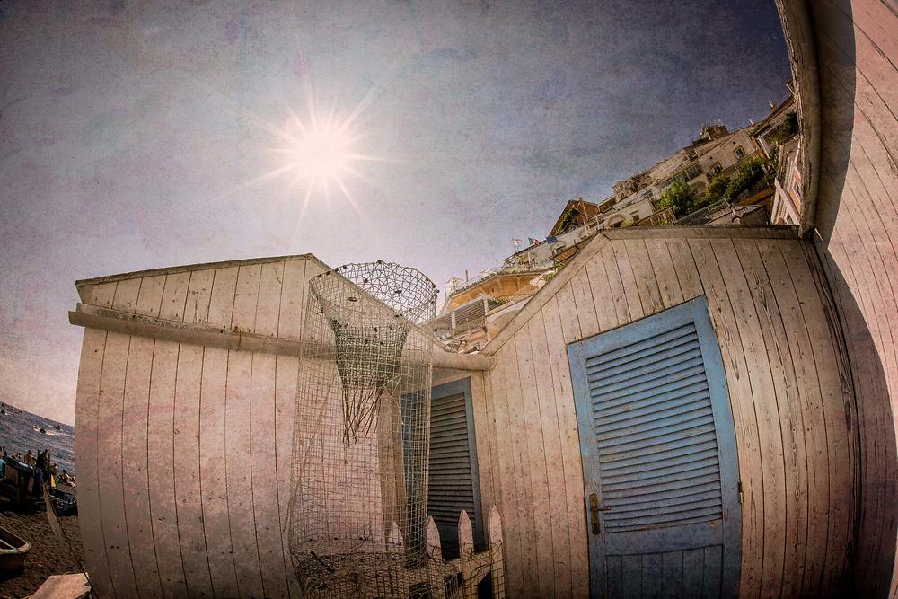 Positano Italy bathhouse