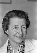14/05/1965<br /> 05/14/1965<br /> 14 May 1965<br /> Madam Seilliere (Paris) at Pelican House, Leeson Street, Dublin.