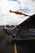 Stinson L-5 ambulance at Warbirds Over the West.