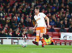 October 31, 2018 - London, England, United Kingdom - London, UK, 31 October, 2018.Blackpool's Paudie O'Connor.During Carabao Cup fourth Round between Arsenal and Blackpool at Emirates stadium , London, England on 31 Oct 2018. (Credit Image: © Action Foto Sport/NurPhoto via ZUMA Press)