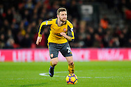 Shkodran Mustafi (20) of Arsenal during the Premier League match between Bournemouth and Arsenal at the Vitality Stadium, Bournemouth, England on 3 January 2017. Photo by Graham Hunt.