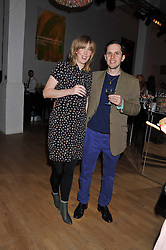 Singer BETH ORTON and CHARLES AVERY at the Whitechapel Gallery Art Plus Opera gala in association with Swarovski held at the Whitechapel Gallery, London on 15th March 2012.