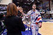Achille Polonara<br /> Banco di Sardegna Dinamo Sassari - Virtus Segafredo Bologna<br /> LBA Serie A Postemobile 2018-2019<br /> Sassari, 31/03/2019<br /> Foto L.Canu / Ciamillo-Castoria