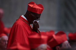 June 28, 2017 - Vatican City State (Holy See) - POPE FRANCIS  appointed new 5 cardinals, Jean Zerbo from Mali, Jos Omella Omella from Spain, Anders Arborelius from Sweden, Luis Marie Ling Mangkhanekhoun from Laos and Gregorio Rosa __Chavez From El Salvador, in St. Peter's Basilica at the Vatican  (Credit Image: © Evandro Inetti via ZUMA Wire)