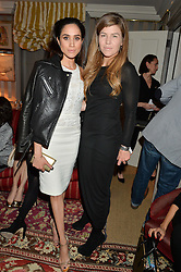 Left to right, MEGHAN MARKLE and AMBER NUTTALL at a private screening of 'A Postcard From Istanbul' directed by John Malkovich In Collaboration With St. Regis Hotels & Resorts held at 5 Hertford Street, London on 3rd March 2015