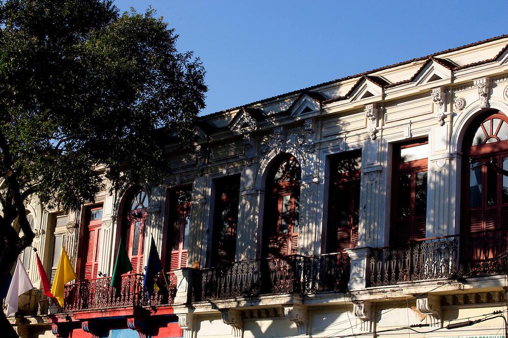 Rio de Janeiro_RJ, Brasil.. .Fachada de galpoes culturais da Lapa, Rio de Janeiro...Bar in the Lapa neighborhood, Rio de Janeiro...Foto: BRUNO MAGALHAES / NITRO